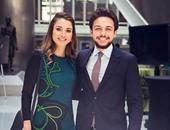 الملكة رانيا تهنئ ابنها الحسين ولى عهد المملكة الأردنية بعيد ميلاده الـ22