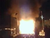 اندلاع حريق بمخلفات أخشاب داخل مستشفى بالعمرانية والحماية المدنية تسيطر