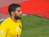 """بالفيديو.. شريف إكرامى ينقذ الأهلى من لدغة """"سالم الاتحاد"""""""