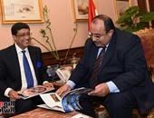 بالصور.. سفير الهند بمصر: وصول سفن عسكرية للإسكندرية ووفد رجال الأعمال