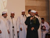بالصور.. محمود التهامى يشدو بالقصائد الصوفية فى دار الكتب