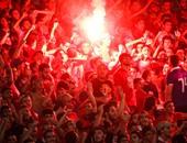 التحقيق مع 26 من جمهور الأهلى فى أعمال شغب مباراة الأهلى وآسيك