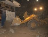 إزالة 6 هناجر عملاقة ومخبز ضمن تطوير ميدان مسجد الصحابة بشرم الشيخ