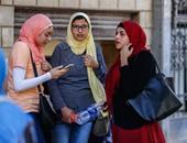 توافد الطلاب على مكتب تنسيق جامعة القاهرة لسحب استمارة اختبار القدرات