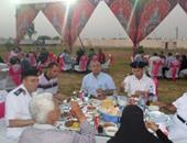 بالصور.. مديرية أمن الإسماعيلية تنظم حفل إفطار لأسر الشهداء