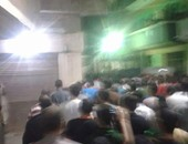 أهالى كفر شكر بالقليوبية يشيعون جثمان الشهيد الملازم أول مصطفى عطايا