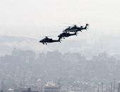 الطائرات الحربية تعاود التحليق فى سماء التحرير احتفالاً بذكرى 30 يونيو