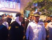 بالصور.. حكمدار العاصمة يتفقد الحالة الأمنية خلال احتفال المواطنين بـ30 يونيو