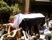 تشييع جنازة شاهندة مقلد بمسقط رأسها فى المنوفية