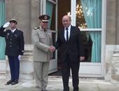 المتحدث العسكرى ينشر فيديو لعودة الفريق أول صدقى صبحى بعد زيارته لفرنسا