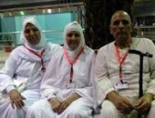 """""""الداخلية"""" تسلم الحجاج ملابس الإحرام المهداة من الوزارة مطبوع عليها علم مصر"""