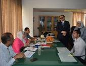 بالصور.. وزارة القوى العاملة تواصل اختبارات التدريب على الخدمات البترولية