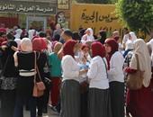 بالفيديو: فوضى بطفايات الحريق داخل أحدى مدارس بورسعيد