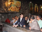 بالصور.. سفير بريطانيا يزور المعالم السياحية بأسيوط