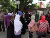 """أولياء أمور بالقاهرة يتظاهرون أمام """"التعليم"""" للنزول بتنسيق الثانوى العام"""