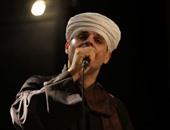 محمود التهامى يمثل مصر بمهرجان سماع الصوفى بالجزائر