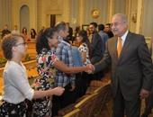 رئيس الوزراء يلتقى أبناء الجالية المصرية فى كندا لبحث مطالبهم