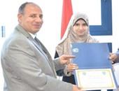الفائزة بالمركز الأول على مستوى العالم فى حفظ القرآن توجه نصيحة للشباب