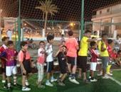 55 ناشئا فى مدرسة كرة القدم بمركز شباب طور سيناء