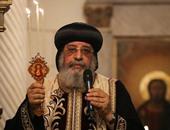 البابا تواضروس يزور الكنيسة القبطية بالمغطس الأردنى
