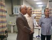 بالصور.. وكيل صحة بنى سويف يطالب بزيادة الحضانات بمستشفى الواسطى