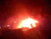 انفجار فى نفق يقتل شخصين ويدمر خطا للغاز فى طهران
