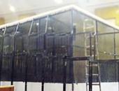 الانتهاء من 90% من أعمال إنشاء القفص الزجاجى بمعهد أمناء الشرطة