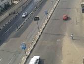 سيولة مرورية بالطرق الرئيسية وشوارع وميادين القاهرة والجيزة