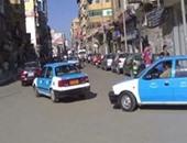 3 مجهولون يسرقون سيارة تاكسي بالإكراه فى الصالحية الجديدة
