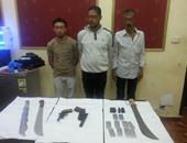 بالصور.. أمن الإسكندرية يضبط 3 مسجلين سرقات وفرض سيطرة
