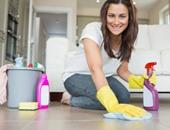 توقفى عن تنظيف منزلك بقطع القماش الجافة لهذا السبب