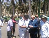 مدير أمن القاهرة يتفقد الأوضاع الأمنية بميدان التحرير