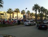 إقبال كبير من المواطنين على المتنزهات والحدائق فى أول أيام العيد بالمنيا