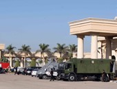 تشديدات أمنية مكثفة بالطرق المؤدية لاستاد برج العرب قبل مباراة القمة