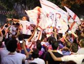 اليوم.. جماهير الزمالك تحتفل مع اللاعبين بالدورى الـ12 فى حلمى زامورا