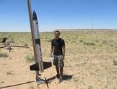 بالصور.. فريق طلابى من جامعة القاهرة يشارك فى مسابقة دولية بصاروخ صغير