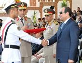 الرئيس السيسى يشهد اليوم حفل تخريج دفعة جديدة من ضباط الصف بالشرقية