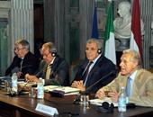 محلب: عازمون على زيادة التبادل التجارى مع إيطاليا لـ6 مليارات يورو فى 2016