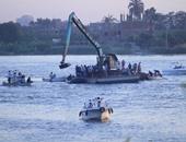 بالفيديو.. استمرار البحث عن جثث ضحايا غرق مركب الوراق بمشاركة الصيادين