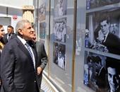 بالفيديو.. الجناح المصرى بمعرض إكسبو ميلانو يضع صوراً للفنان عمر الشريف