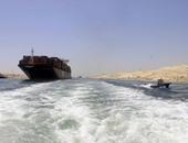مميش: سفينة دنماركية عملاقة بحمولة 200 ألف طن عبرت قناة السويس الجديدة