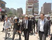 مدير أمن الغربية يشرف على حملة لرفع الإشغالات بطنطا