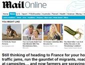 """الديلى ميل تحذر البريطانيين من التوجه إلى فرنسا بسبب """"الفوضى"""""""