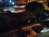 """""""واتس آب اليوم السابع""""..مواطن يستولى على حديقة عامة بالجولف لتحويلها لمقهى"""