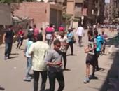 بالفيديو.. أهالى أرض اللواء يلقنون الإخوان علقة ساخنة ويفرقون مسيرتهم