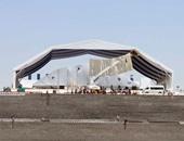 بالفيديو والصور..تدشين جداريتين استعدادًا لحفل افتتاح قناة السويس الجديدة