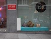 """فنانو بريطانيا يدافعون عن """"المشردين"""" فى شوارع لندن"""