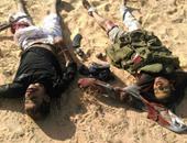 المتحدث العسكرى ينشر صوراً جديدة لقتلى الإرهابيين بسيناء