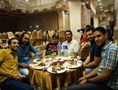 """6 أبريل وبداية ومصر القوية والاشتراكيين الثوريين بحفل إفطار """"25 يناير"""""""