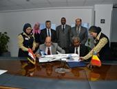 مصر للطيران للشحن الجوى توقع بروتوكولا لتسيير رحلات بين القاهرة ونجامينا